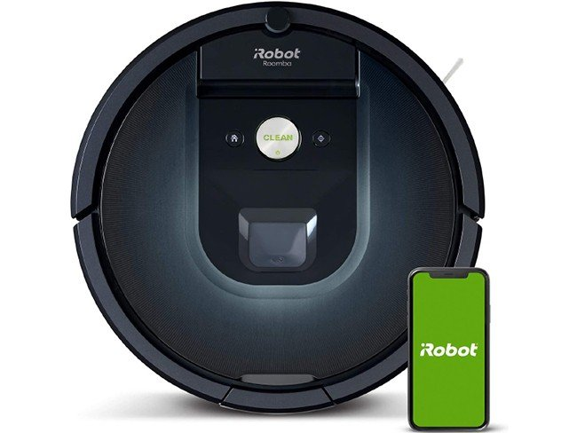 Aspirador robot iRobot Roomba 981