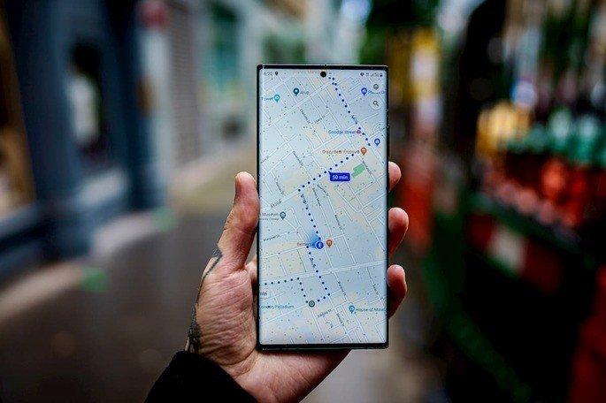 OPPO Google Maps