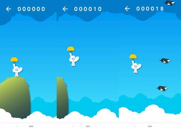 Aplicação Google jogo