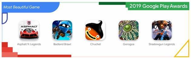 Jogos mais bonitos da Google Play Store