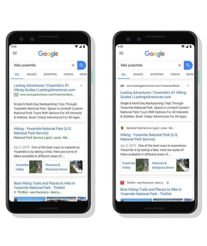 Google Search has a new look on your computer. See how it turned out