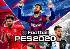 Konami revela capa do eFootball PES 2020 com quatro jogadores
