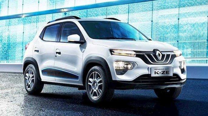 Renault carro elétrico