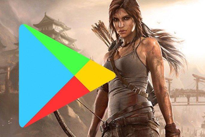 Lara Croft Go Google Play Store grátis