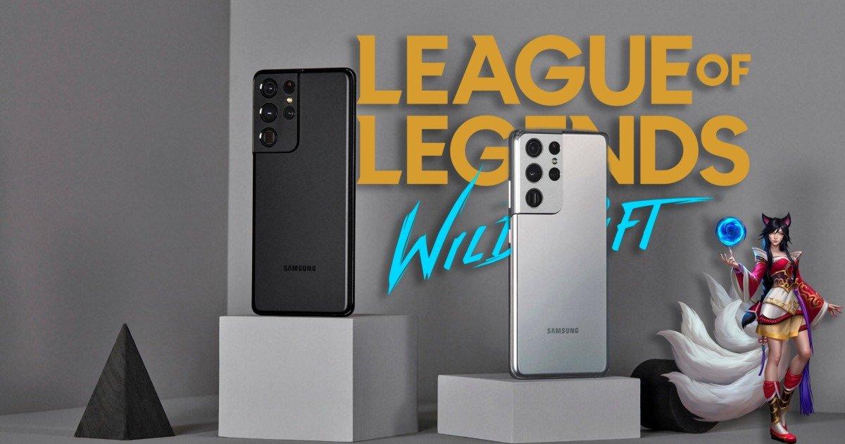 League of Legends: Wild Rift: o melhor jogo para os Samsung Galaxy S21 Ultra