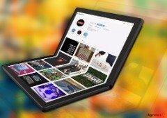 Lenovo apresenta o primeiro computador portátil com ecrã dobrável (protótipo)