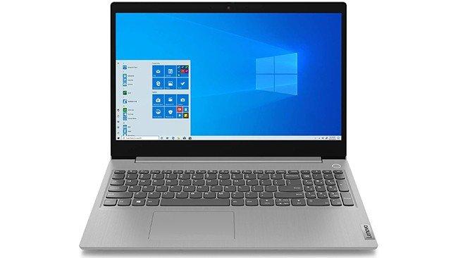 Lenovo Ideapad 3 notebook in gray