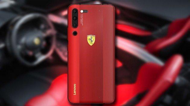 Lenovo Z6 Pro Ferrari