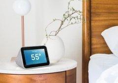 Não é um Relógio Google de cabeceira, mas tem tudo para tal!