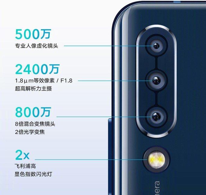 Lenovo Z6 camera specs