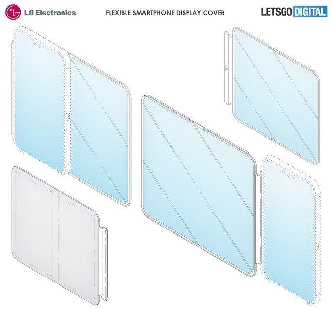 LG capa patente