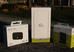 LG G5: Unboxing e Primeiras Impressões com os módulos Hi-Fi Plus e CAM Plus