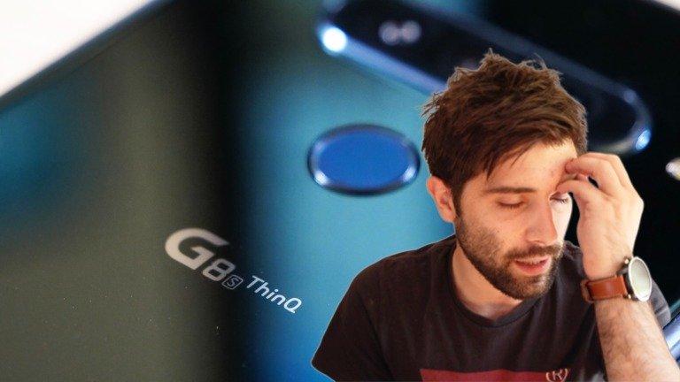 """LG G8s ThinQ Review   Um smartphone que """"não tem fundamento"""""""