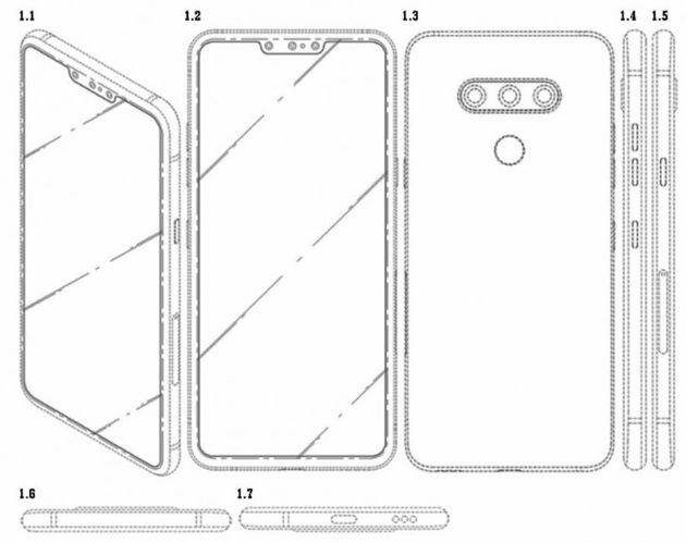 LG patent three selfie front chambers