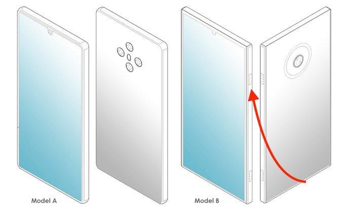 Smartphones LG sem botão