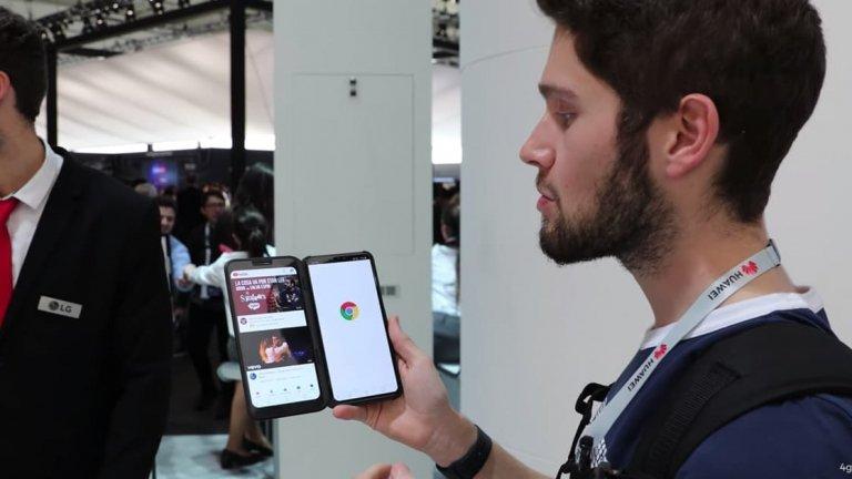 """LG V50 ThinQ: Primeiras impressões do smartphone """"modular"""""""