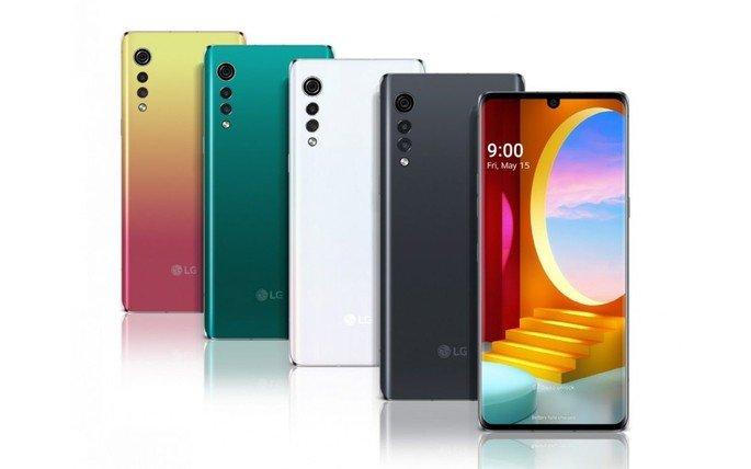 LG Velvet Android 11