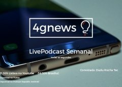 Podcast 4gnews 122 já disponível: RIP Note7, Xiaomi Mi Note 2, Google Pixel opinião Dudu Rocha Tec