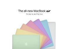 MacBook Air colorido? Como seria o portátil da Apple com ideologia do iMac