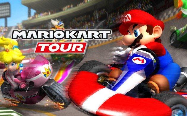 Super Mario Kart Tour Nintendo Smartphone