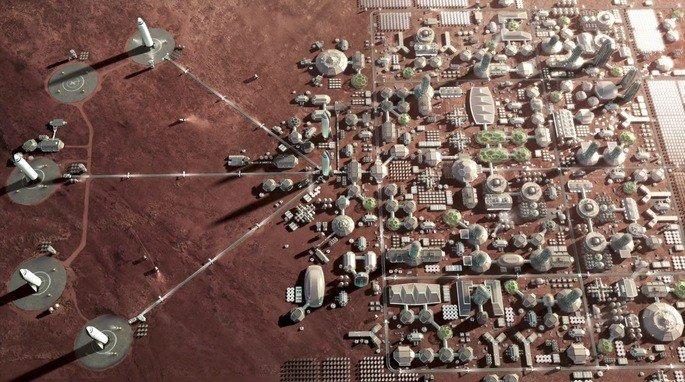Colónia Humana em Marte