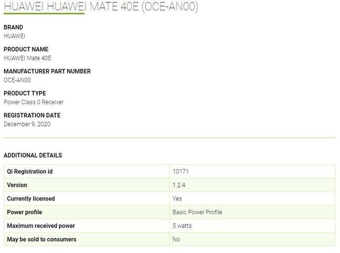 Huawei Mate 40E terá design semelhante ao do Mate 40