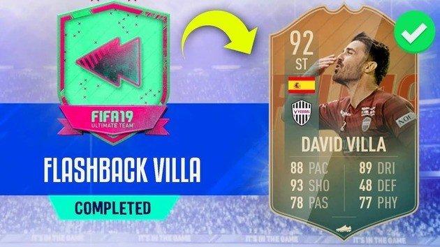 david villa flashback