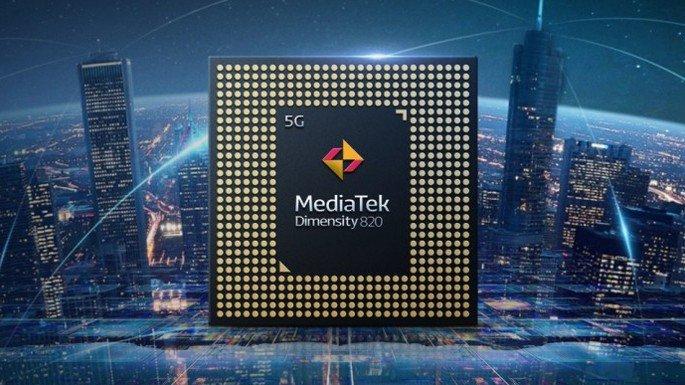 Processador MediaTek Dimensity 820