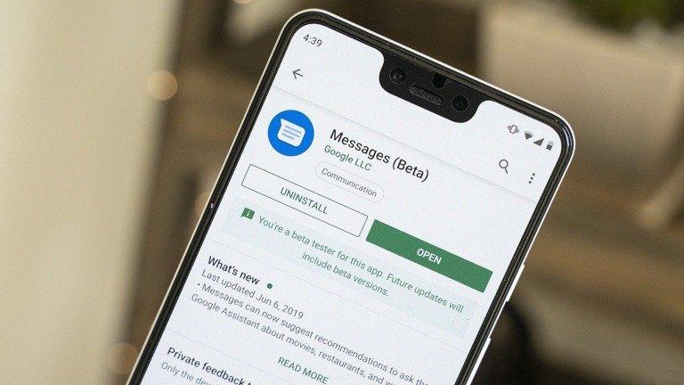 Mensagens Google vai mostrar botão de áudio como no WhatsApp e outras apps