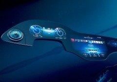 Mercedes mostra ecrã futurista Hyperscreen para os seus veículos elétricos