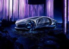 Mercedes revela protótipo de carro futurista inspirado no filme Avatar
