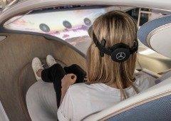 Vision AVTR: interface Mercedes controla funções do carro com a mente