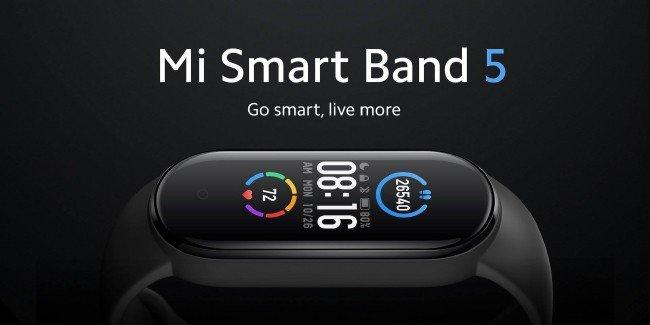 Pulseira Mi Band 5 da Xiaomi