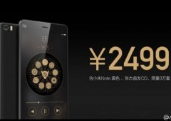 Xiaomi anuncia Mi Note Black Edition #chinaaopoder
