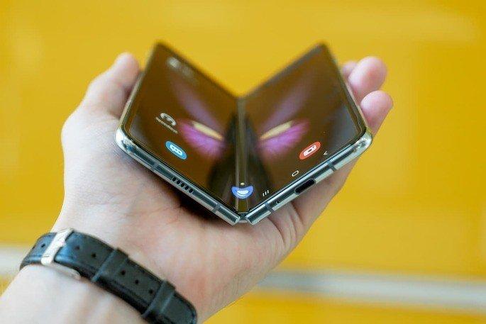 Samsung Galaxy Fold smartphones dobráveis