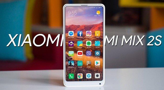 Xiaomi Mi Mix 2s android 10