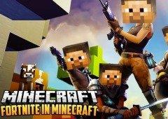 Minecraft continua mais popular que o Fortnite, com mais de 110 milhões de jogadores por mês
