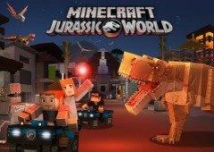 Minecraft recebe DLC que vais adorar: Bem-Vindo ao Jurassic World!