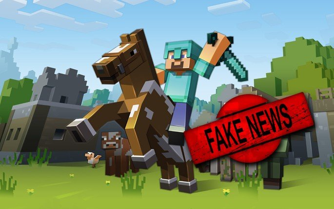 Minecraft Fake News