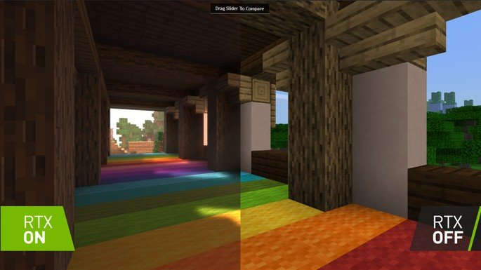 Minecraft NVIDIA ray-tracing