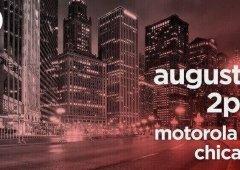 Motorola poderá apresentar novos smartphones no dia 2 de agosto