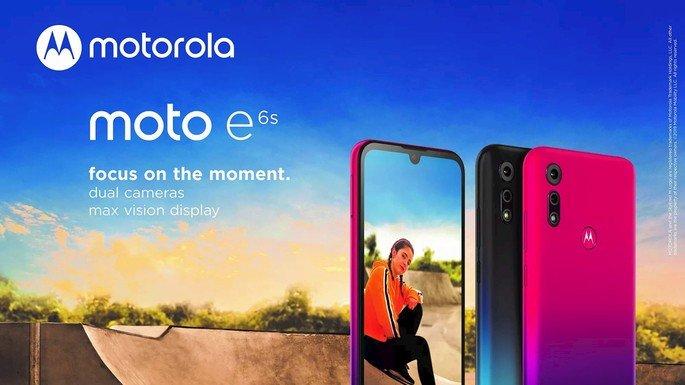 Chegou o Motorola Moto E6S