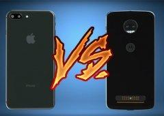 Motorola compara o Moto Z2 Force e os Moto Snaps ao iPhone 8