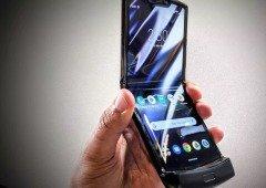 Motorola Razr é um dos smartphones mais difíceis de reparar