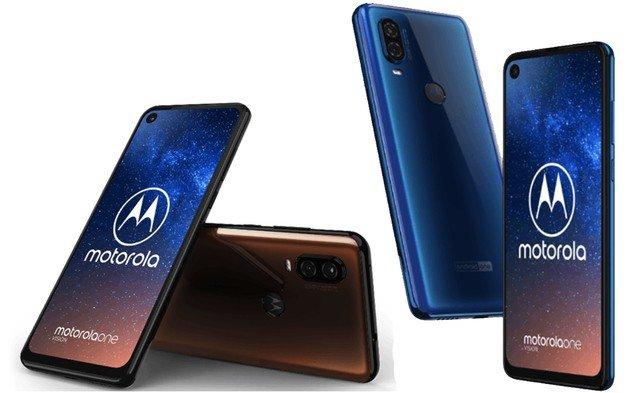 Motorola One Vision oficial renders