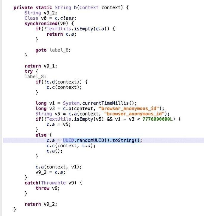 Código fonte MIUI