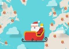 Não percas o Pai Natal! Acompanha em direto a viagem até à tua chaminé