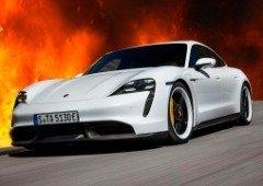 Nao são só os Tesla! Porsche Taycan explode e incendeia garagem (vídeo)
