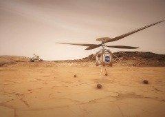 NASA vai colocar helicóptero em Marte! Mas não é bem o que julgas