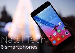 6 Smartphones ideais para um Natal Tech- Escolha do Bacelar